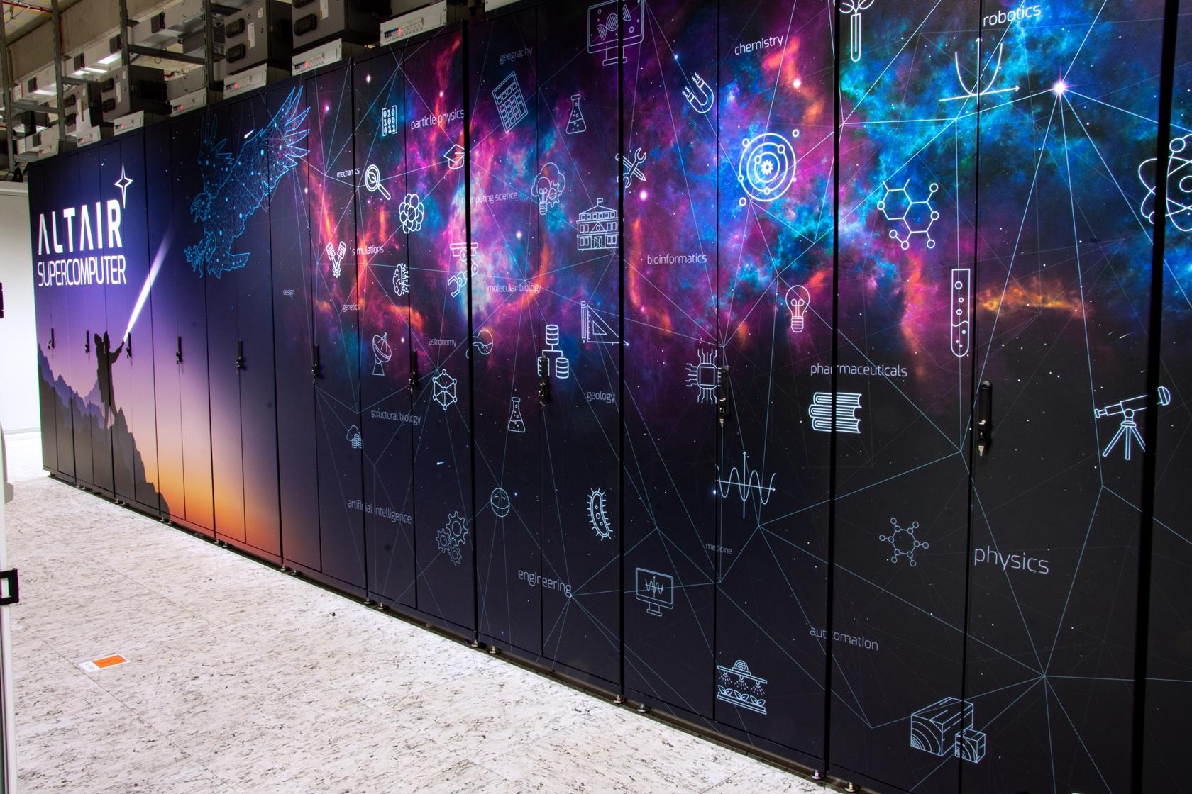 Read more about the article Superkomputer Altair jest w pełni operacyjny i gotowy do działania